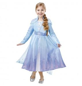 Travestimento Elsa Frozen 2 Deluxe bambina che più li piace