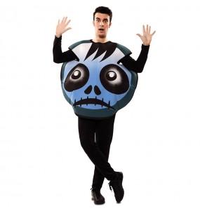 Travestimento Frankenstein Emoticon adulti per una serata ad Halloween