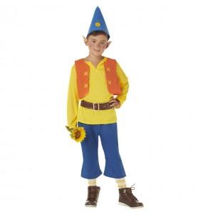 Costume da Nano Biancaneve Giallo per bambino