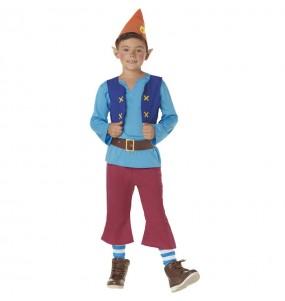 Costume da Nano Biancaneve Blu per bambino
