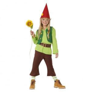 Costume da Nano Biancaneve Verde per bambino
