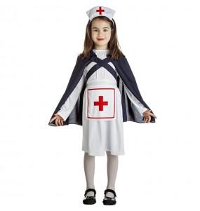 Costume da infermiera con mantello per bambina