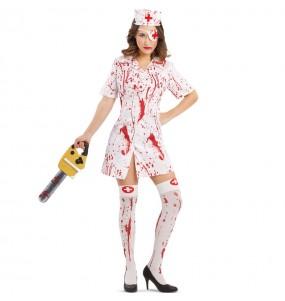 Costume da Infermiera sanguinaria per donna