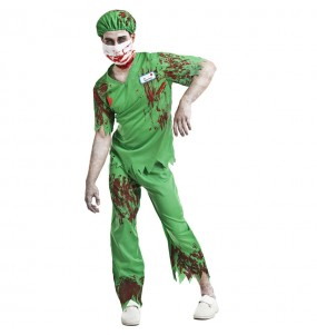 Costume da Infermiere zombie per uomo