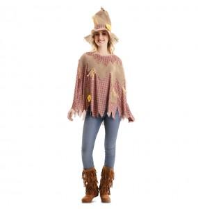 Costume da Spaventapasseri poncho per donna