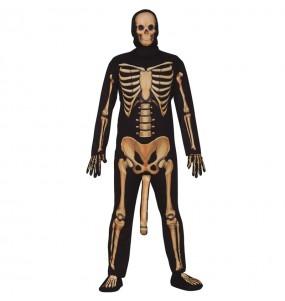 Costume da scheletro comico per uomo