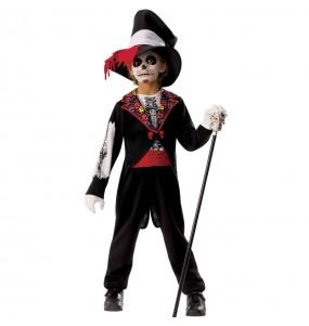 Costume da Scheletro Catrin per bambino