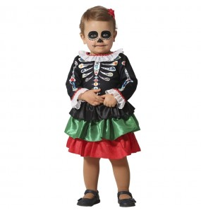 Costume da Scheletro Catrina per neonato