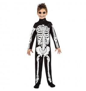Costume da Scheletro delle tenebre per bambino