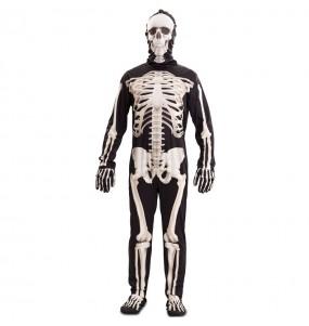 Costume da Scheletro deluxe per uomo