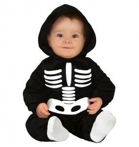 Travestimento Scheletro halloween neonati con il quale il tuo bambino farà paura