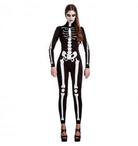 Costume Scheletro donna per una serata ad Halloween