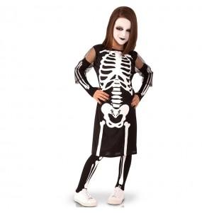 Costume da Scheletro sinistro per bambina
