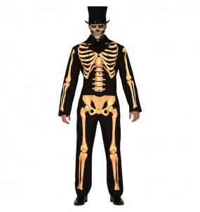 Travestimento Scheletro Skull adulti per una serata ad Halloween