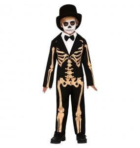 Travestimento Scheletro Skull bambini per una festa ad Halloween