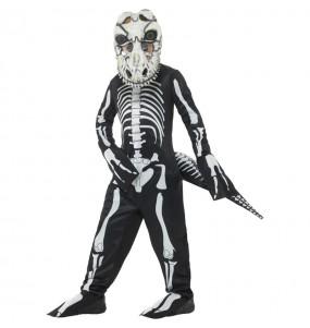 Costume da Scheletro T-Rex per bambino