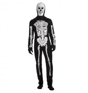 Costume da Scheletro spaventoso per uomo