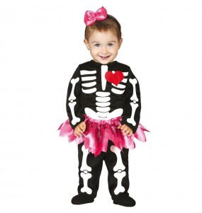 Costume Scheletro tutù per neonato