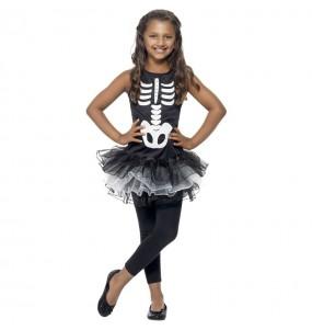 Costume da Scheletro tutù per bambina