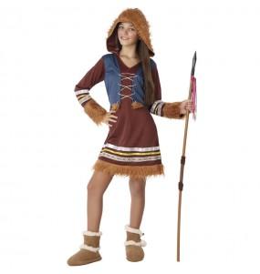 Costume da Eschimese Polo Nord per bambina