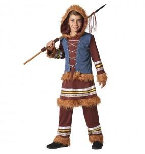 Costume da Eschimese Polo Nord per bambino