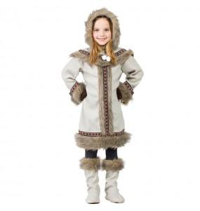 Travestimento Eschimese Siberiana bambina che più li piace