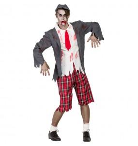 Travestimento Studente zombi adulti per una serata ad Halloween