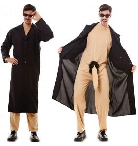 Costume da Esibizionista in mantello per uomo