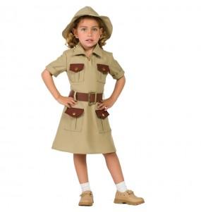 Travestimento Giungla Esploratrice bambina che più li piace