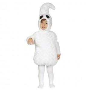 Costume da Fantasma bianco per neonato