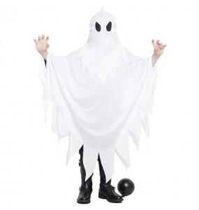 Costume da Fantasma bianco per bambino