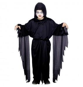 Costume da fantasma oscuro per bambino