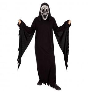 Travestimento Fantasma Skull adulti per una serata ad Halloween