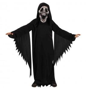 Travestimento Fantasma skull bambini per una festa ad Halloween