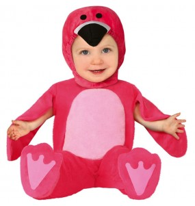 Travestimento Fenicottero rosa neonato che più li piace