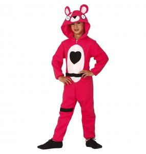 Travestimento Fortnite Orso rosa bambino che più li piace