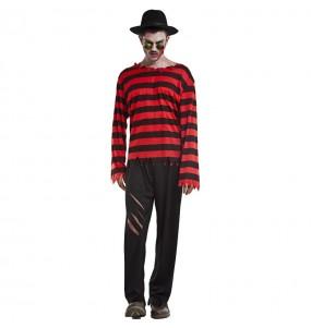 Costume da Freddy Krueger Elm street per uomo
