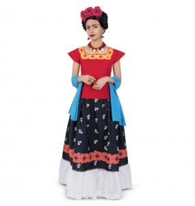 Costume Frida Kahlo per donna