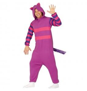 Travestimento Gatto Cheshire adulti per una serata in maschera
