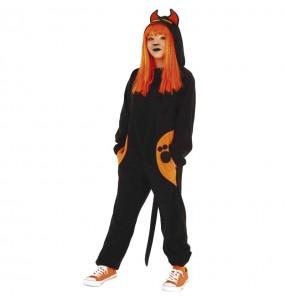 Costume da Gatto sinistro per bambina