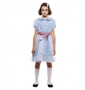 Vestito Gemella The Shining bambine per una festa ad Halloween