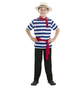 Costume da Gondoliere di Venezia per bambino