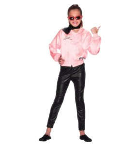 Travestimento Grease Giacca Pink Ladies bambina che più li piace