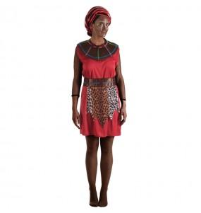 Travestimento Guerriera Masai donna per divertirsi e fare festa