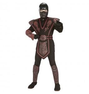 Costume da Guerriero ninja rosso per bambino