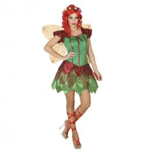 Costume da Fata della foresta per donna