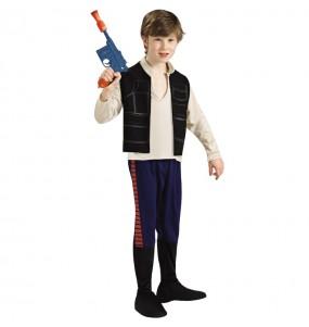 Travestimento Han Solo Star Wars bambino che più li piace
