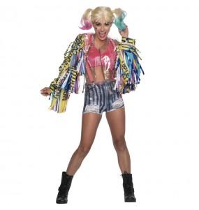 Costume da Harley Quinn birds of prey deluxe per donna