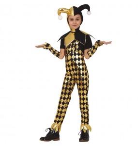 Costume da Harley Quinn Birds of Prey per bambina