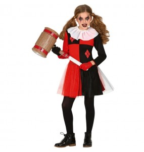 Costume da Harley Quinn cosplay per bambina